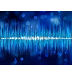 Abstract waveform vector