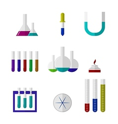 Chemistry labware vector