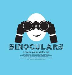 Binocular eps10 vector
