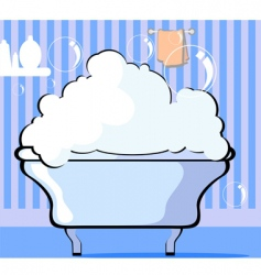 Bath tub vector