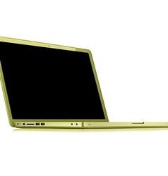 Notebook gold vector