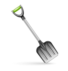 Garden shovel isolated on white background vector