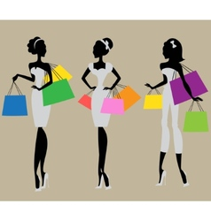 Fashion and beauty collection vector
