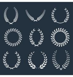 Wreaths vector