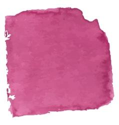 Magenta watercolor vector