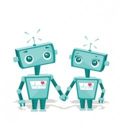 Robot cartoon vector