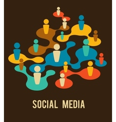 Social media and network vector