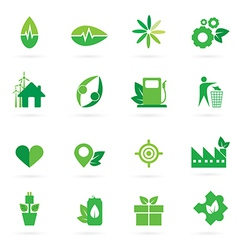 Green icon and symbol design vector