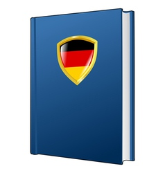 Constitution of germany vector