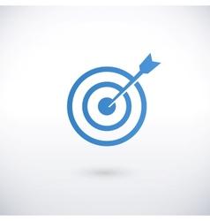 Achieving goal logo design template vector