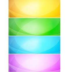 Abstract shiny template banner vector