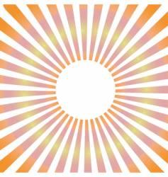 Sunbeam vector
