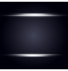 Abstract dark background with light lines vector
