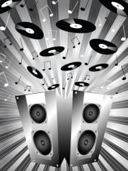 Music blast vector