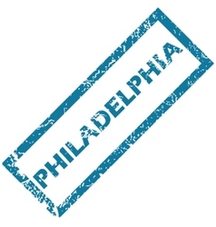 Philadelphia rubber stamp vector