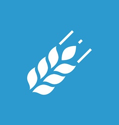 Agriculture icon white on the blue background vector
