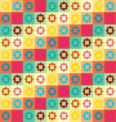Colorful geometry pattern vector