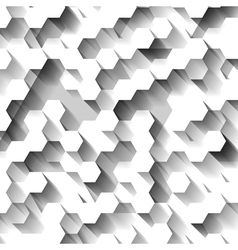 White technological abstrac pattern vector