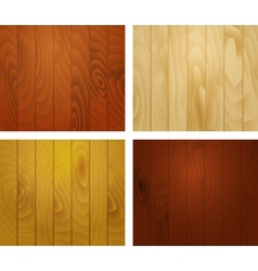 Wooden texture planks vector