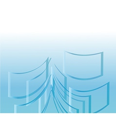 Background abstract windows vector