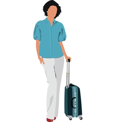 Travelling business vector