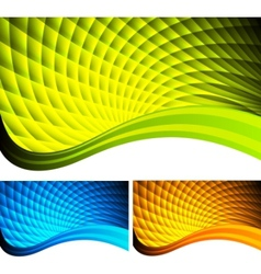 Vibrant backgrounds vector