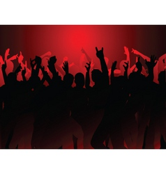 Party crowd vector