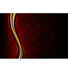 Red luxury background vector