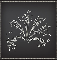 Firework icon sketch design vector