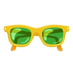 Sun glasses summer accessory vector