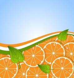 Orange template vector