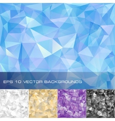 Set of geometric patterns vector