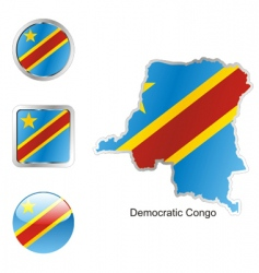 Democratic congo vector