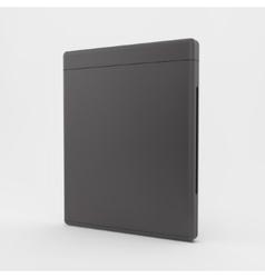 Blank dvd-case or cd-case 3d vector