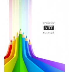 Abstract art background vector