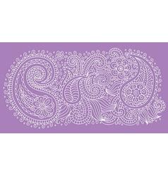Pattern violet vector