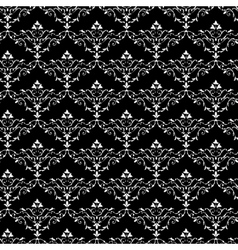Vintage seamless wallpaper pattern vector