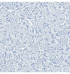 Seamless background with curls vector