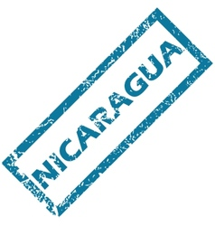 Nicaragua rubber stamp vector