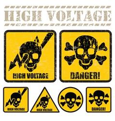 High voltage vector