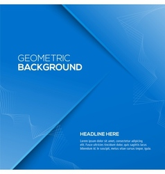 Abstract 3d background blue colour vector