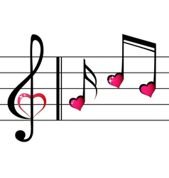 Music love - concept vector