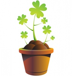 Mrock pot vector illustr vector