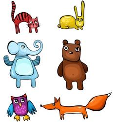 Animal set vector
