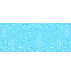 Cool water background with drops vector