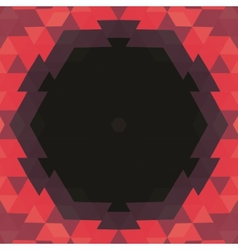 Abstract hexagonal shape background layout for web vector