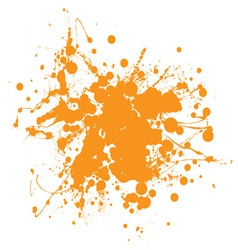 Abstract ink splat vector