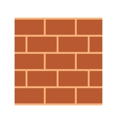 Construction wall vector