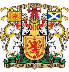 Scotland coat-of-arms vector