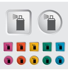 Icon spray cans vector